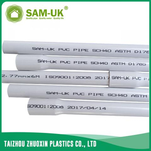 PVC plumbing pipe for water supply schedule 40 ASTM D1785