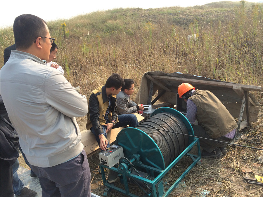TLS Technologies Borehole Inspection Camera Application Case-Jiangsu zhouzhuang logging field-06