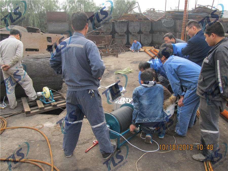 TLS Technologies Borehole Inspection Camera Application Case-Hongdong county coal mine well logging field-07