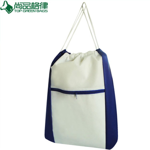 Drawstring Gift Shopping Bag Nonwoven Sport Bag (TP-dB089)