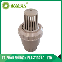 PVC brown foot valve ( socket & thread )
