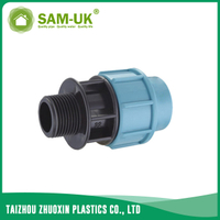 PP male adapter for irrigation water