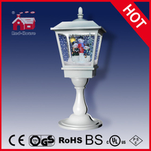 (LT27064-3S2-W) 2016 Christmas Light Tabletop Lamp with Snow and Music