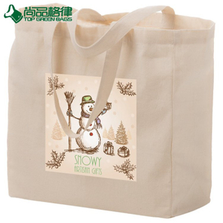 Custom Eco Friendly Strong Tote Cotton Shopping Bag Reusable Grocery Bags (TP-SP659)