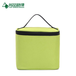 Wholesale High Quality Simplicity Pattern Zipper Close Adult Insulated Lunch Cooler Bag
