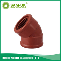 PPH 45 deg elbow for hot water