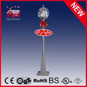 (LV30175A-SSS11) 12V Outdoor Christmas Street Light with Snow and LED Light