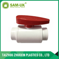 PVC new compact ball valve ( thread )