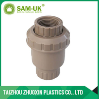 PVC coffee check valve ( socket & thread )