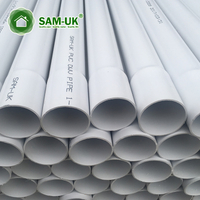3 inch schedule 40 pvc thin wall rigid drain pipe