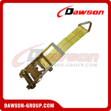 3 inch Ratchet Strap Short End with Delta Ring