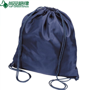 Wholesale Customized Polyester Drawstring Backpack Bag (TP-BP025)