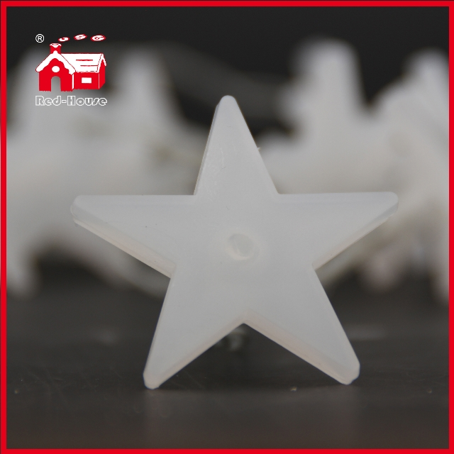 LED Star Battery Light White Star Pendant Customized 10L Battery Christmas Light