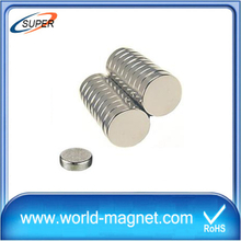 Customized neodymium disc small round magnet for sale