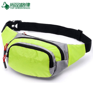 Multi-Functional Fashion Polyester money waist bag for Men Women (TP-WTB005)