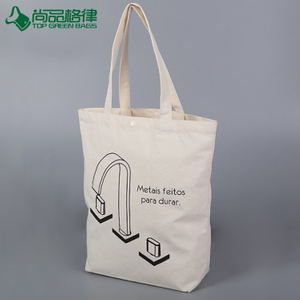 Wholesale recyclable shopping cotton canvas bag with snap button (TP-SP628)