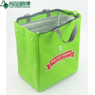 OEM Reusable Eco-Friendly Non Woven Cooler Bag Thermal Insulating Cool Food