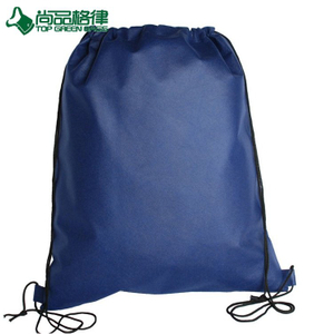 Wholesale durable non woven drawstring back pack reusable drawstring pack (TP-DB329)