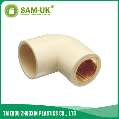 CPVC female brass elbow for water supply Schedule 40 ASTM D2846