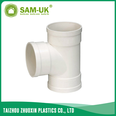 PVC waste pipe tee for drainage water