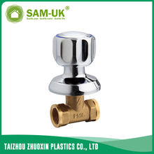 Brass chrome stop valve for water supply