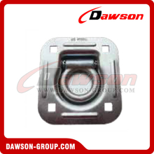 "PPE-2SQ BS 2720kgs/6000lbs 2"" Rectangle Floor Pan Fitting Square Hole, Trailer Tie Down Fittings"