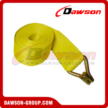 4 inch Winch Strap with Wire Hook