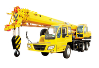 XCMG 16 ton pickup mobile crane truck mounted QY16B.5