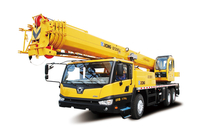 XCMG 25 ton conventional pickup boom truck crane QY25K5-I