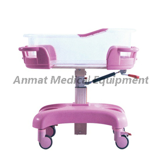 Hospital infant baby bassinet adjustable baby crib bed