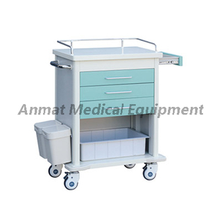 Factory Cheap Medical Drug Steel Nursing Trolley