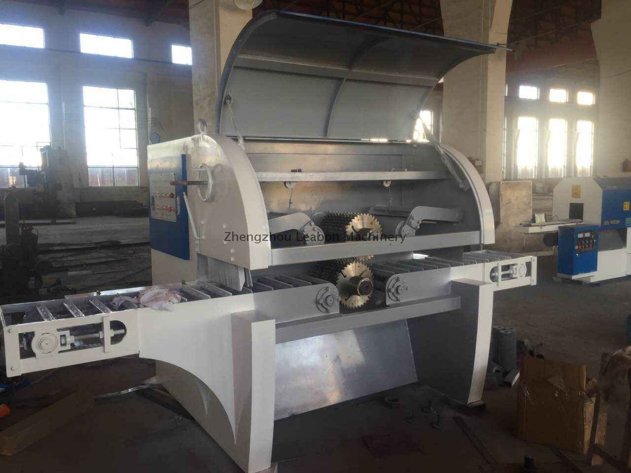 Multi-Blade Rip Sawmill for Wood Logs