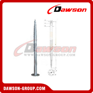 DSb16 F88.9×2000×220 Earth Auger F Ground Pile Series