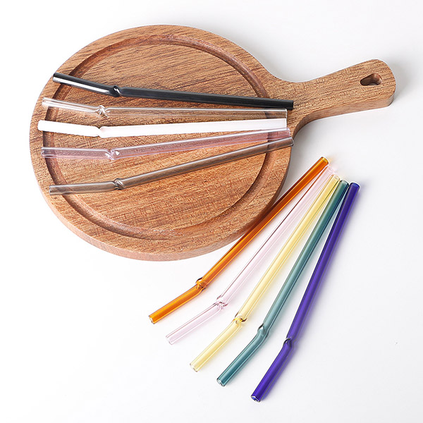 Reusable Drinking Glass Straws