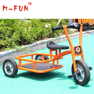 Child three-wheel metal tricycle