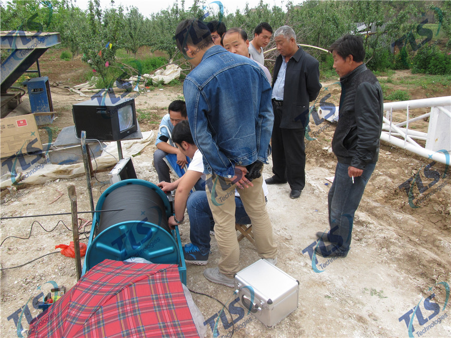 TLS Technologies Borehole Inspection Camera Application Case-Shaanxi 139 hydrological team logging field-07