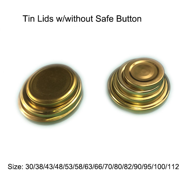Lug Caps w/without Safe Button