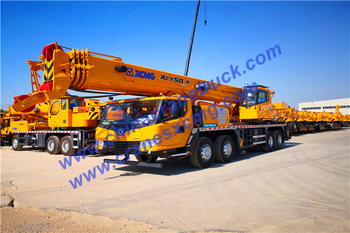 Customer order 1 unit XCMG new 50t truck crane