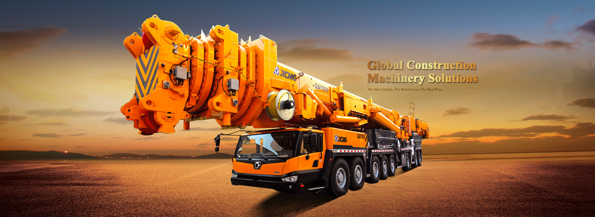 China XCMG all terrain crane