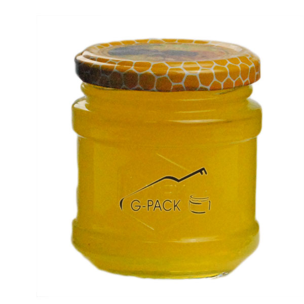Logo Embossed Glass Jars with Lids