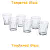 Tempered Glass Cups