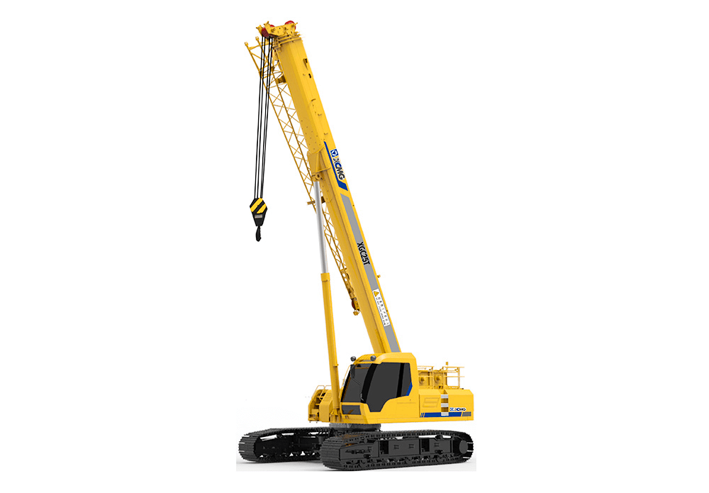 XGC25T telescopic crawler crane