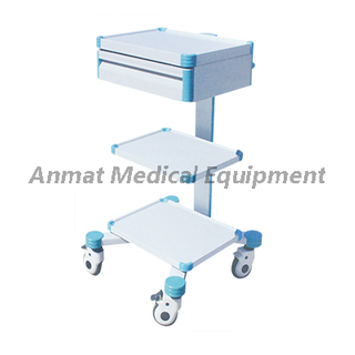 Steel with painting for operating instrument trolley