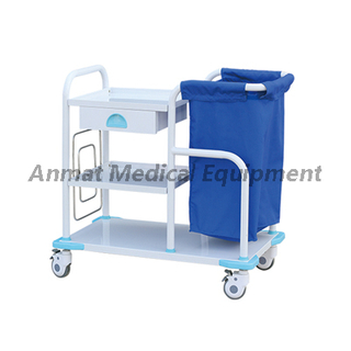 High Quality Nursing Medical Cart for Laundry Collecting