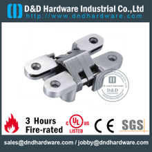 Stainless Steel 316 Heavy Duty invisible Hinge for interior Wooden Door-28x118mm -SS-CC04