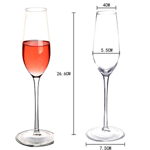 Borosilicate Glass Standing Cup