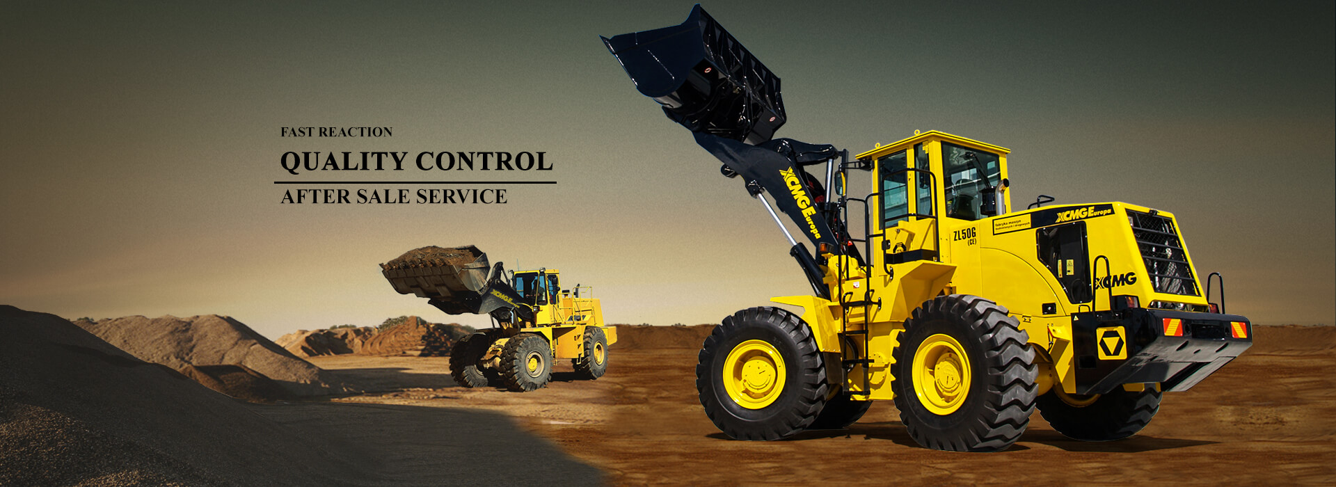 China XCMG wheel loader