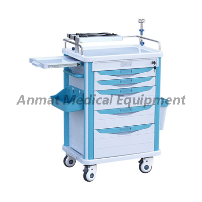 China First Aid Nursing Appliance Hospital Emergency Trolley Manufacture