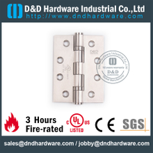 SS304 Two Ball Bearing Fire Rated Door Hinge for Wooden Door with UL Listed-DDSS433