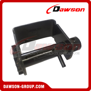 Notched Sliding Winch - Combination - Flatbed Truck Winches for Cargo Lashing Straps